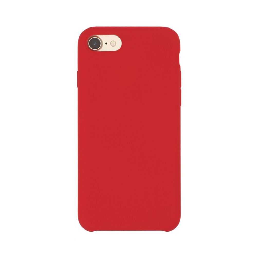 Carcasa iPhone 7 Just Must Liquid Silicone Red