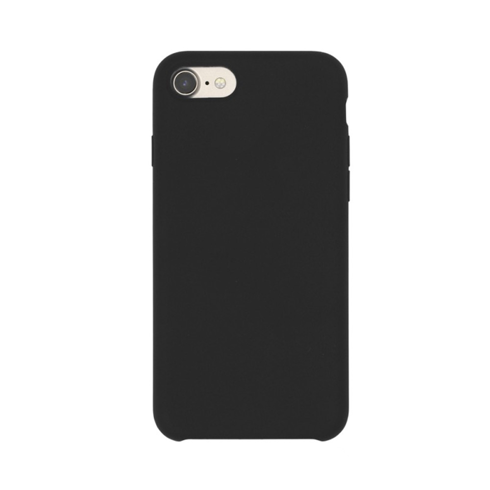 Carcasa iPhone 7 Just Must Liquid Silicone Black