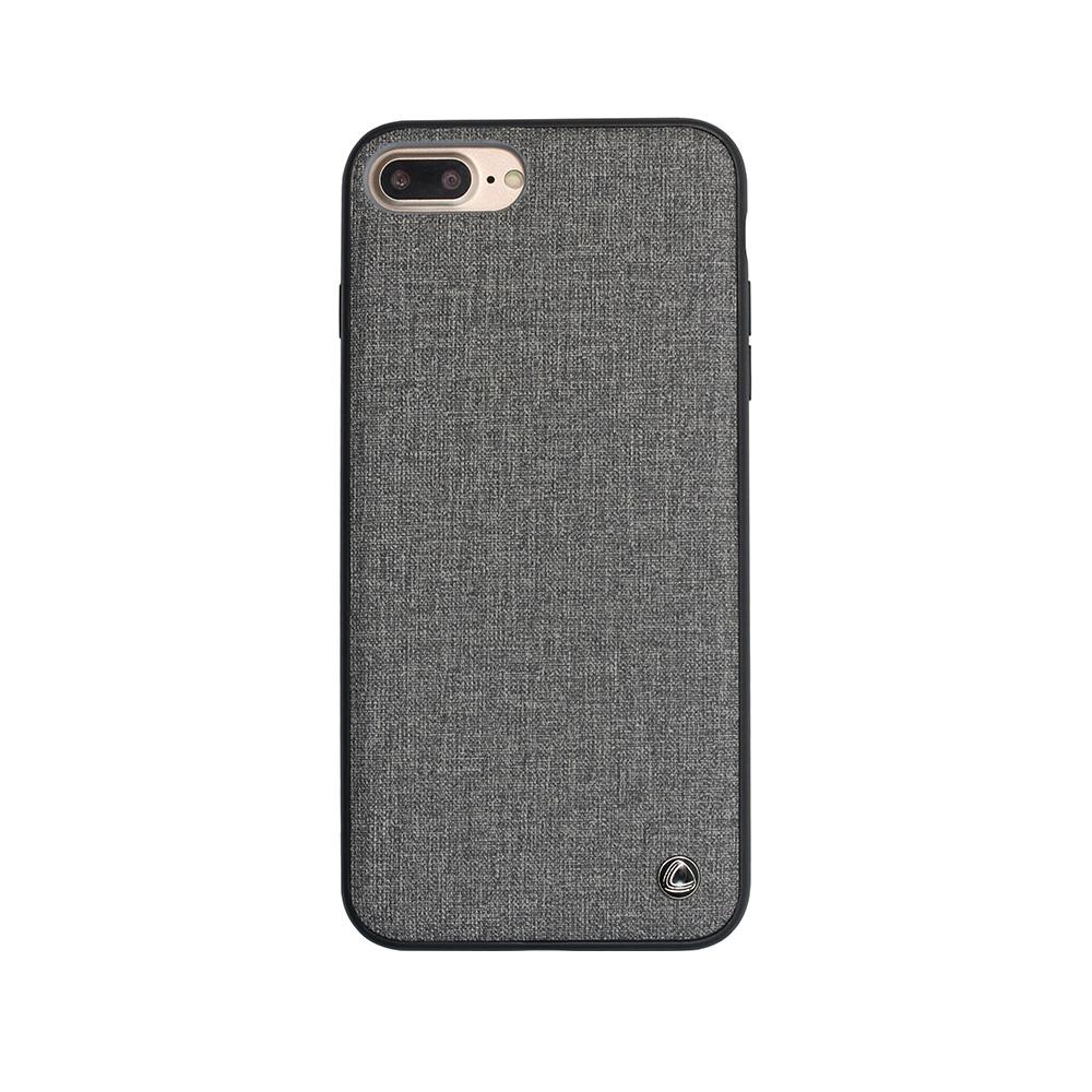 Carcasa iPhone 8 Plus / 7 Plus Occa Empire II Gray (margine flexibila)