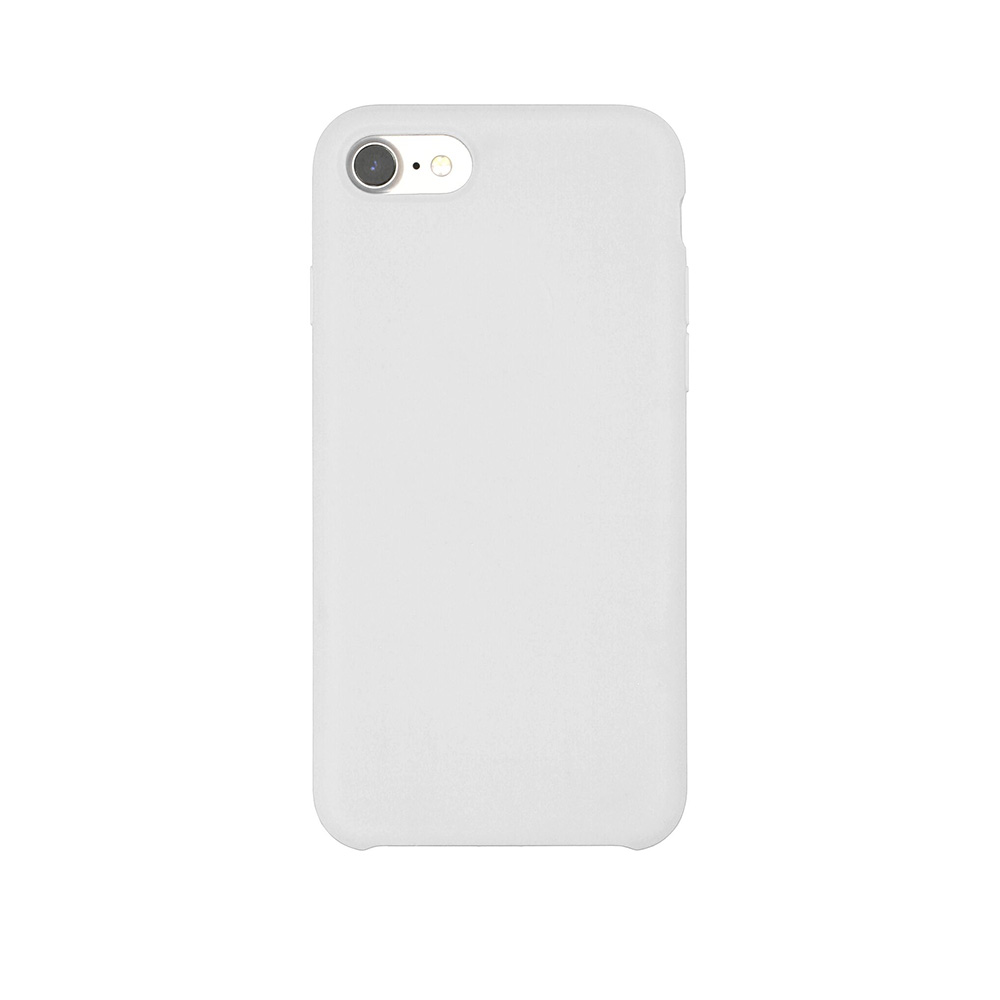 Carcasa iPhone 7 Just Must Liquid Silicone White