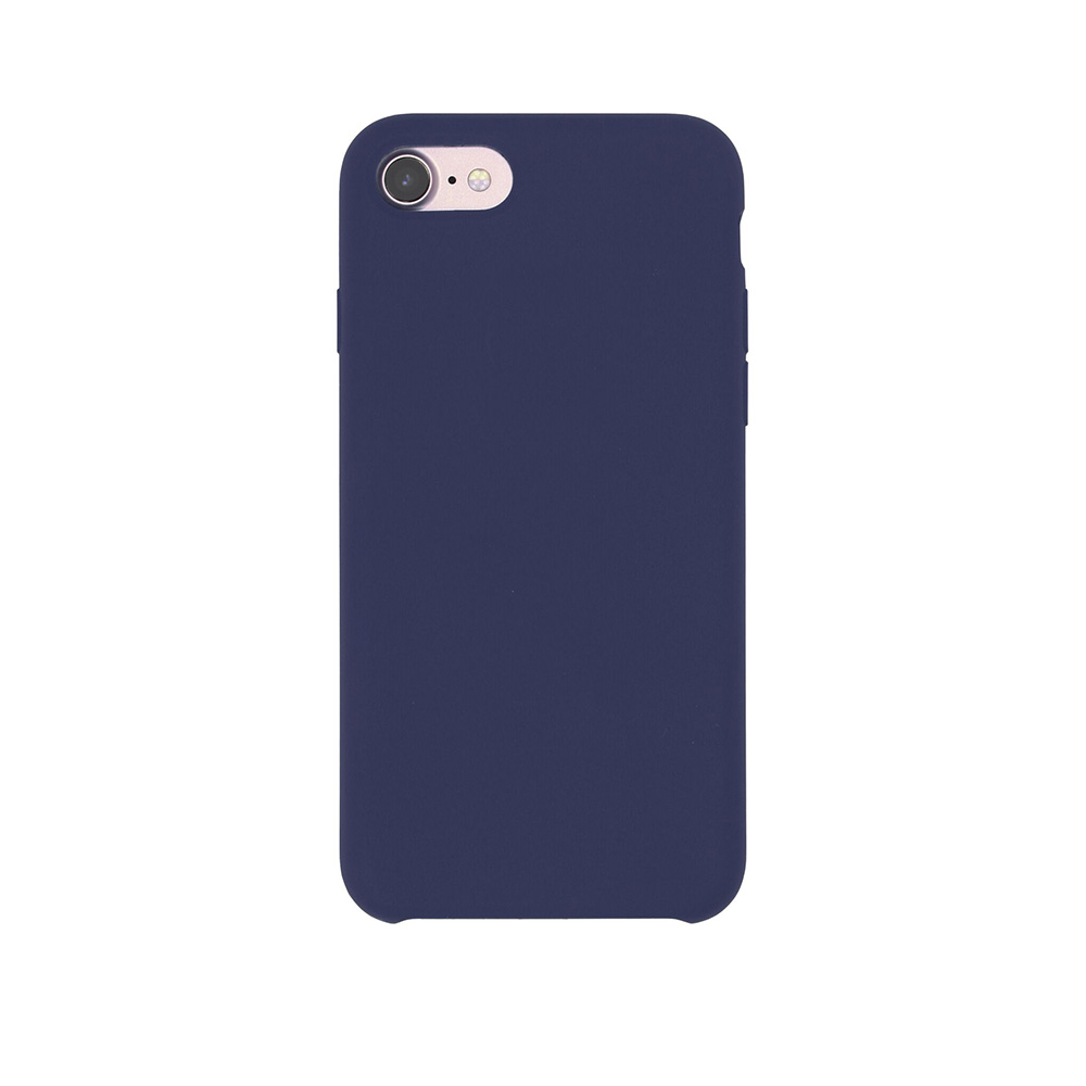 Carcasa iPhone 7 Just Must Liquid Silicone Midnight Blue