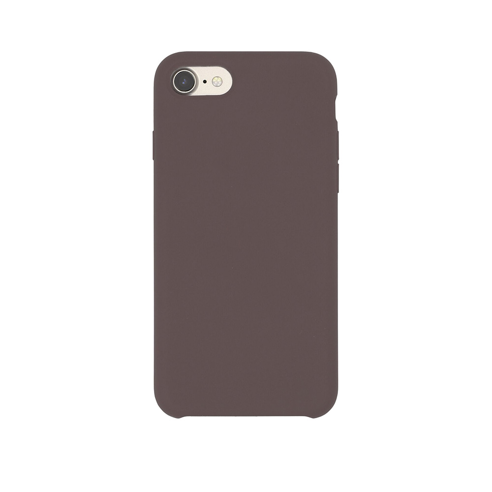 Carcasa iPhone 7 Just Must Liquid Silicone Cocoa