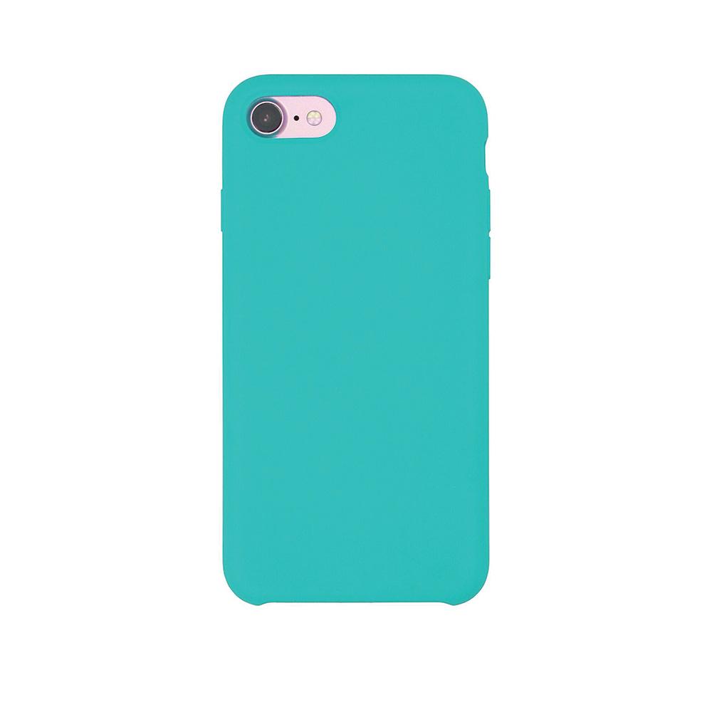 Carcasa iPhone 8 / 7 Just Must Liquid Silicone Sea Blue