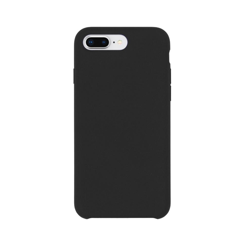 Carcasa iPhone 8 Plus / 7 Plus Just Must Liquid Silicone Black