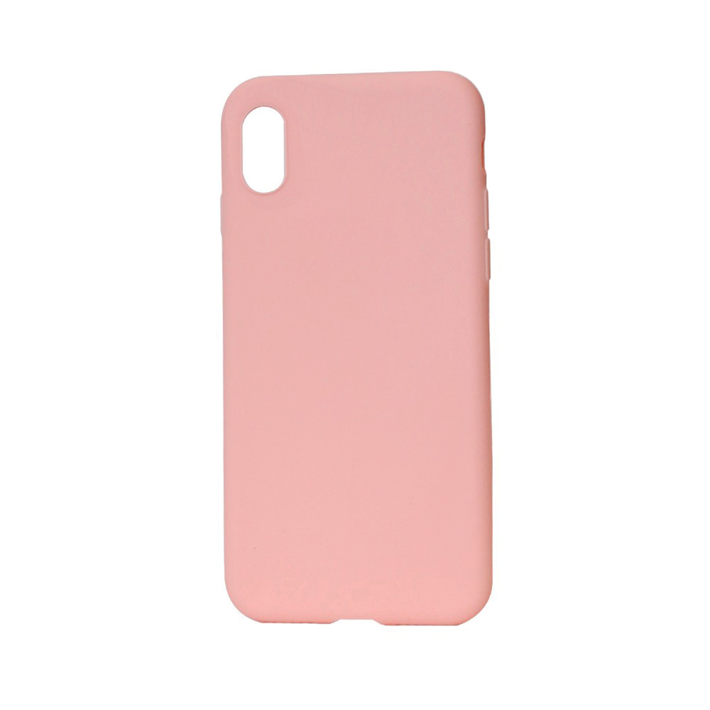 Husa iPhone X / XS Just Must Silicon Candy Pink