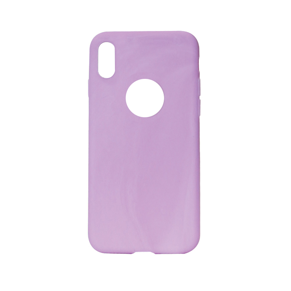 Husa iPhone X / XS Just Must Silicon Candy Purple