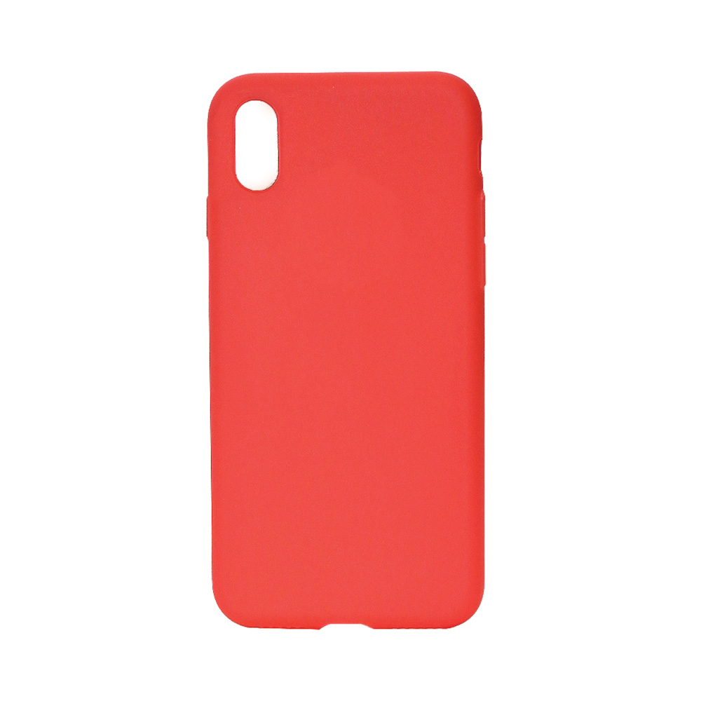 Husa iPhone X / XS Just Must Silicon Candy Red