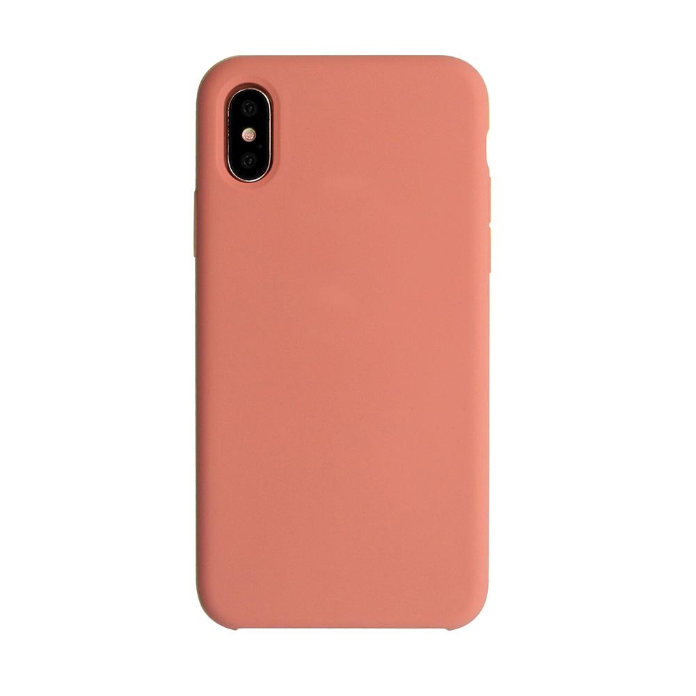 Carcasa iPhone X Just Must Liquid Silicone Flamingo