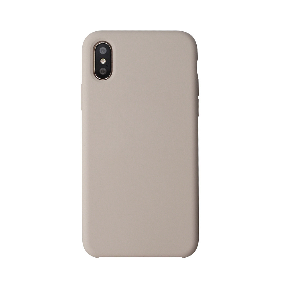 Carcasa iPhone X Just Must Liquid Silicone Pebble
