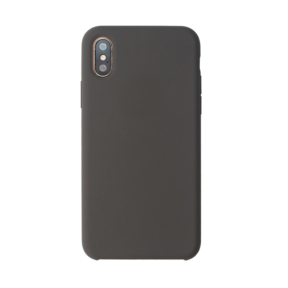 Carcasa iPhone X Just Must Liquid Silicone Cocoa