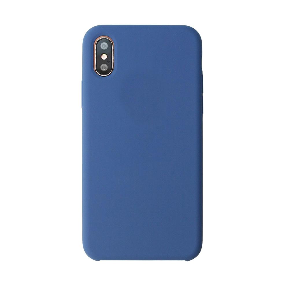 Carcasa iPhone X Just Must Liquid Silicone Ocean Blue