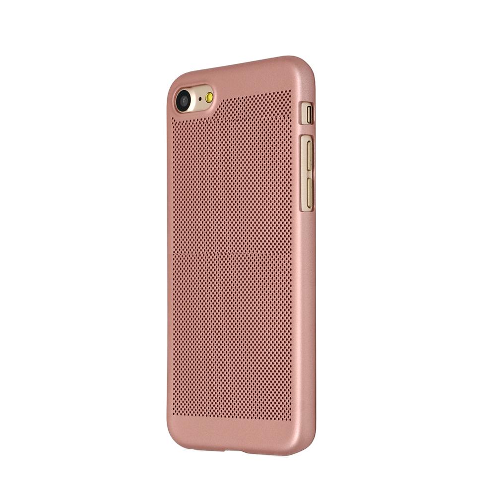 Carcasa iPhone 8 Just Must Simo II Rose Gold (gaurele pentru disiparea caldurii)