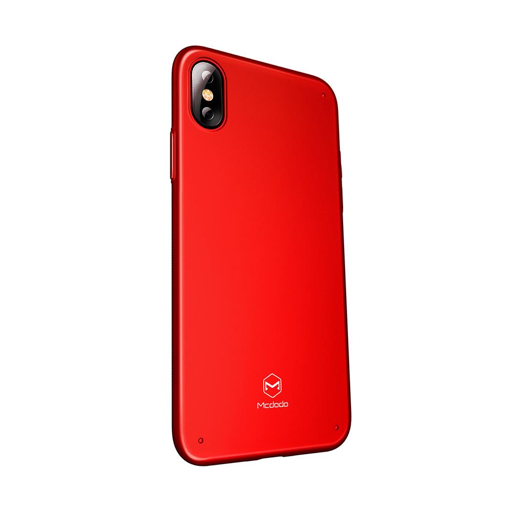 Carcasa iPhone X / XS Mcdodo Super Vision Grip Red