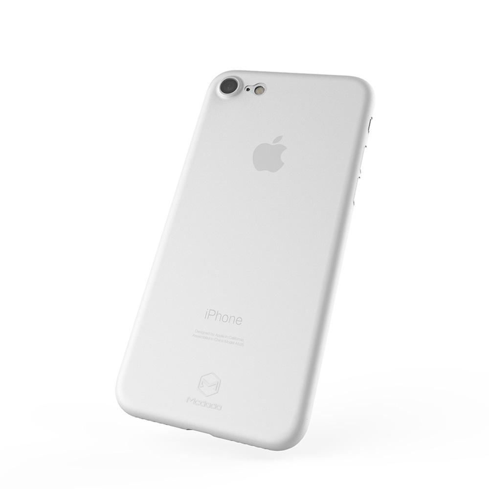 Carcasa iPhone 8 / 7 Mcdodo Ultra Slim Air White (0.3mm)