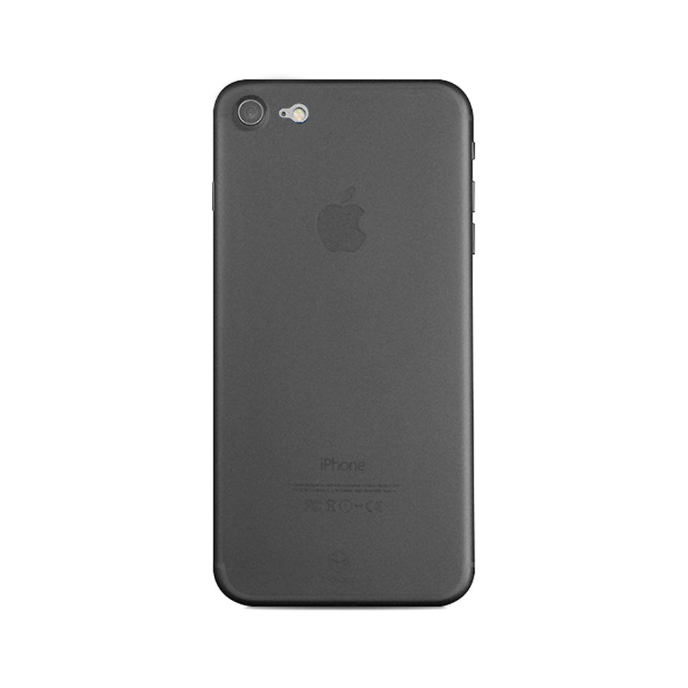 Carcasa iPhone 8 / 7 Mcdodo Ultra Slim Air Clear Black (0.3mm)