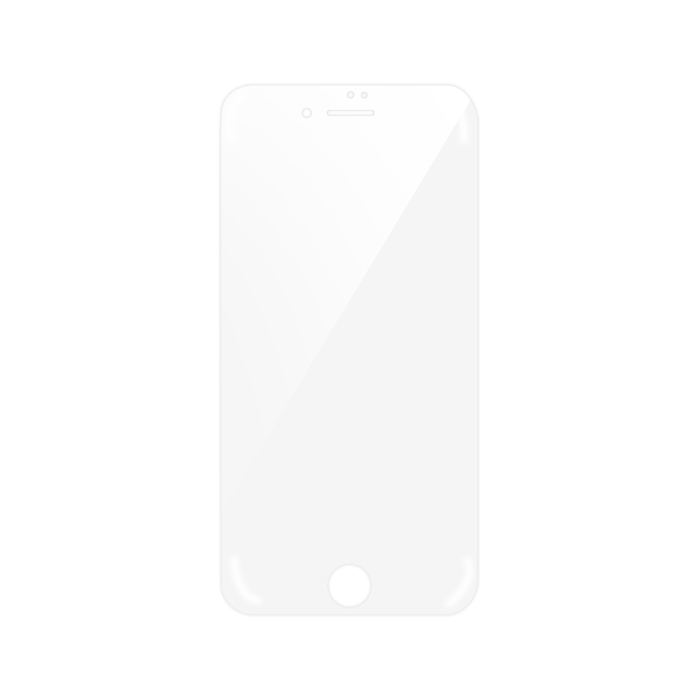 Folie iPhone 7 Magic Sticla 3D Full Cover Clear (0.33mm, 9H)