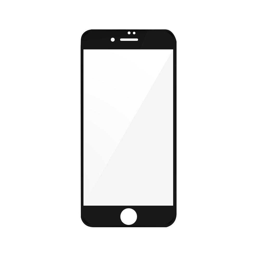 Folie iPhone 7 Plus Magic Sticla 3D Full Cover Black (0.33mm, 9H)
