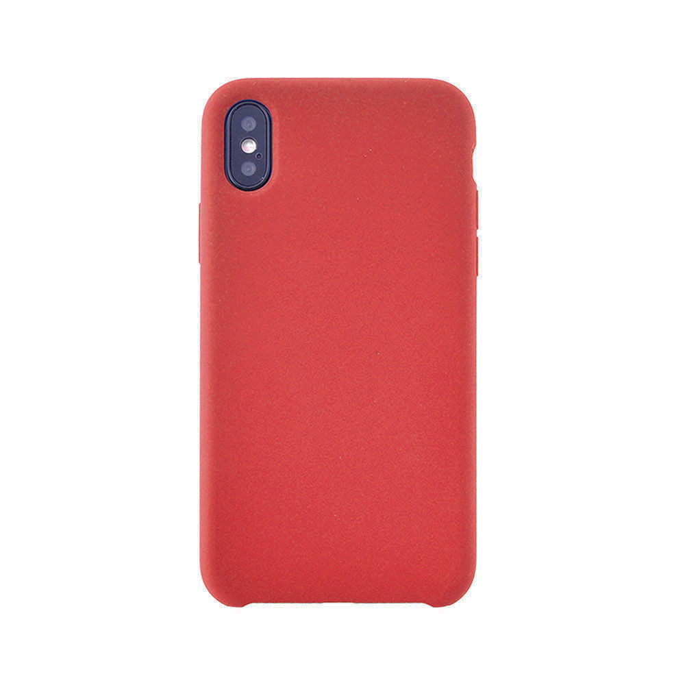 Carcasa iPhone X / XS Meleovo Silicone Gear Red
