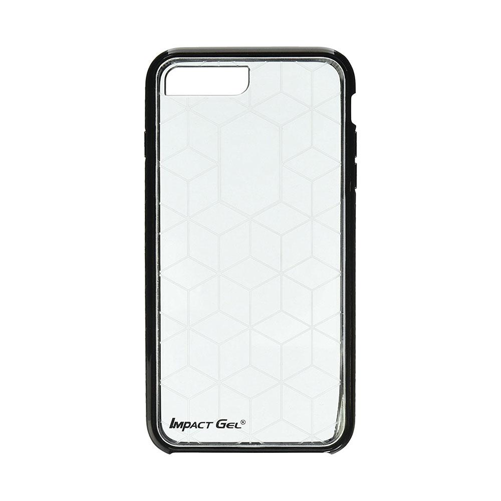 Carcasa iPhone 8 Plus / 7 Plus / 6 Plus Impact Gel Crusader Series Clear-Black (Xtreme Armour)