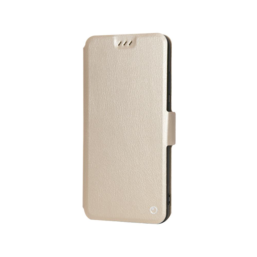 Husa Huawei P20 Lemontti Book Elegant Auriu