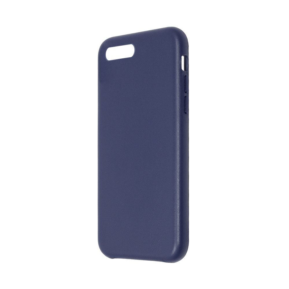 Carcasa iPhone 8 Plus / 7 Plus Just Must Origin Leather Midnight Blue (piele naturala)