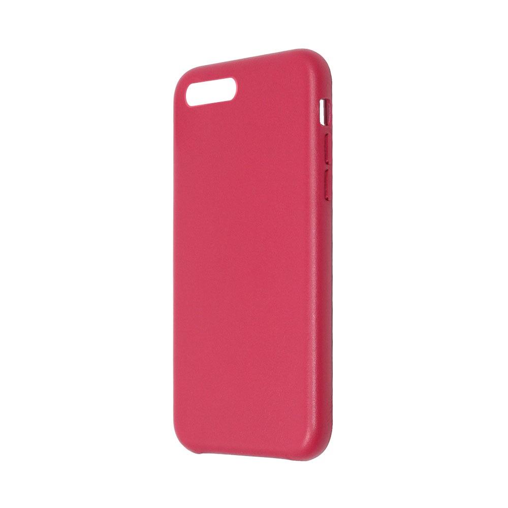 Carcasa iPhone 8 Plus / 7 Plus Just Must Origin Leather Red (piele naturala)