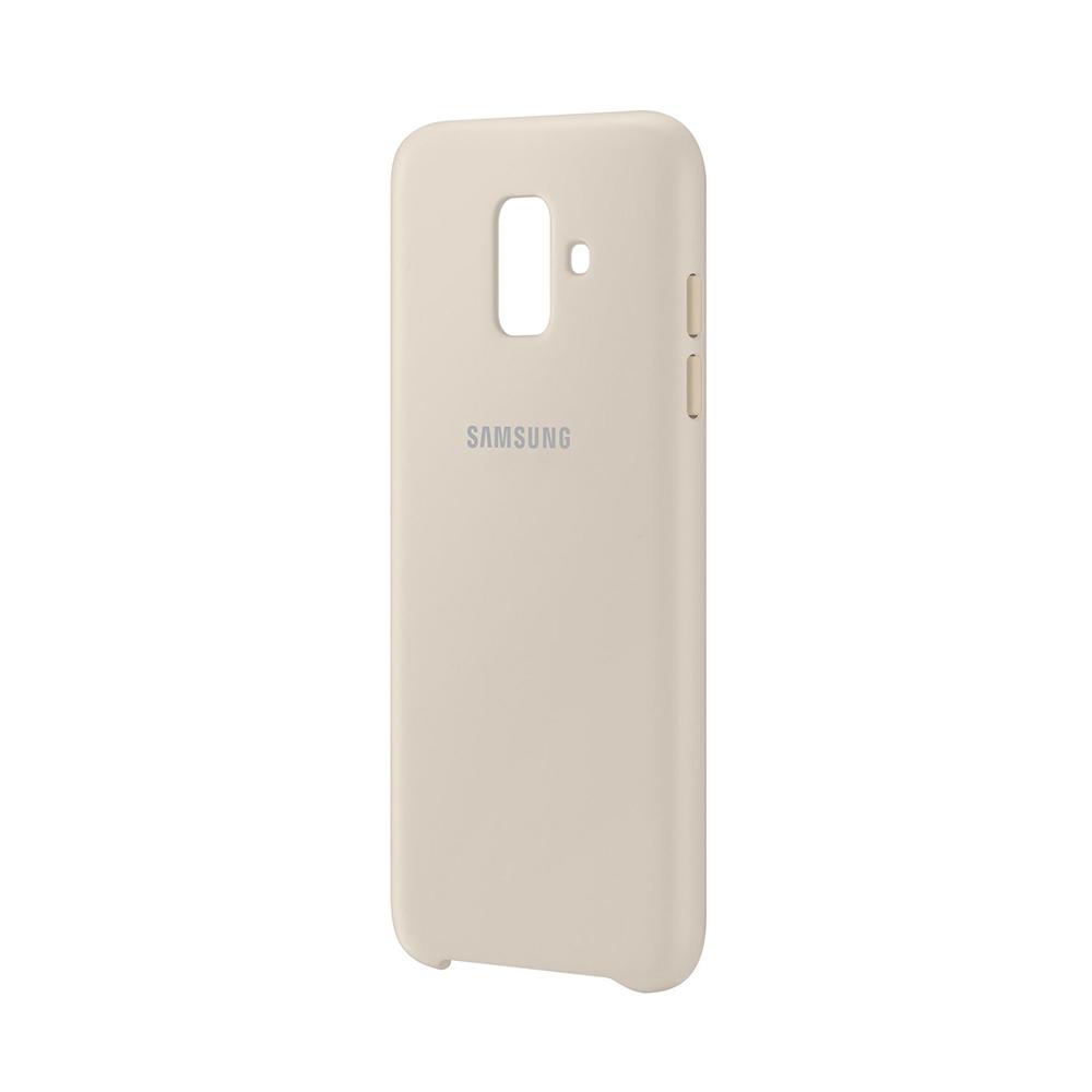 Carcasa Samsung Galaxy A6 (2018) Samsung Dual Layer Cover Gold