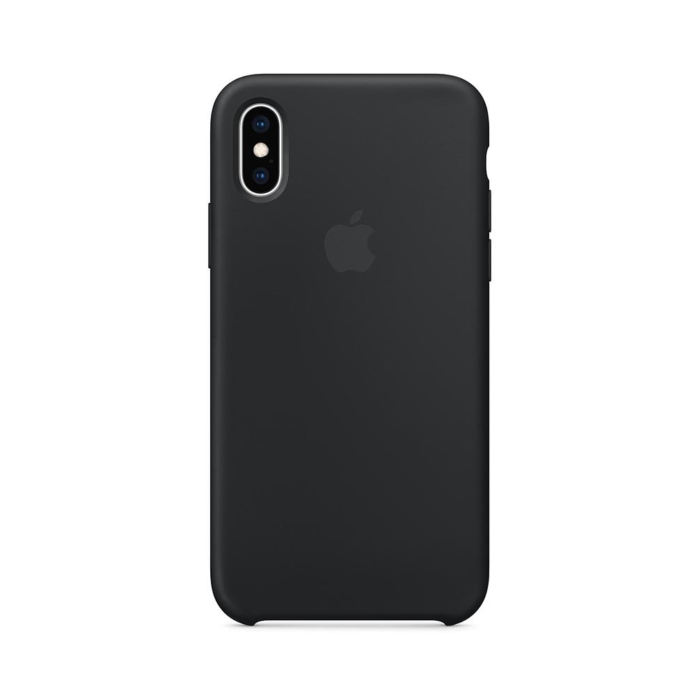 Husa iPhone XS Apple Silicon Black