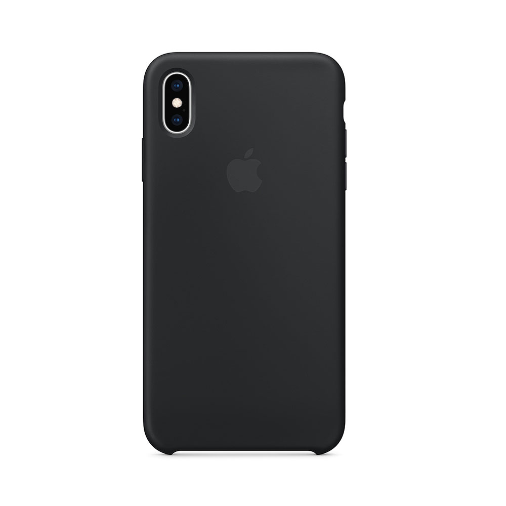 Husa iPhone XS Max Apple Silicon Black