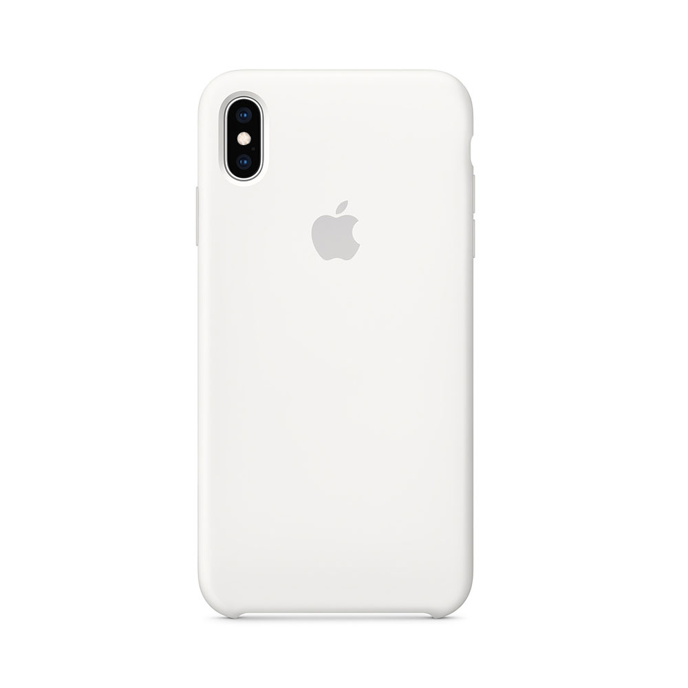 Husa iPhone XS Max Apple Silicon White
