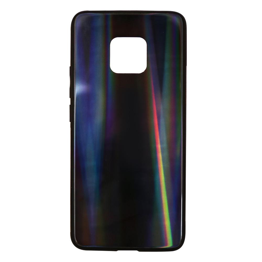 Carcasa Sticla Huawei Mate 20 Pro Just Must Glass Print Dark Holo