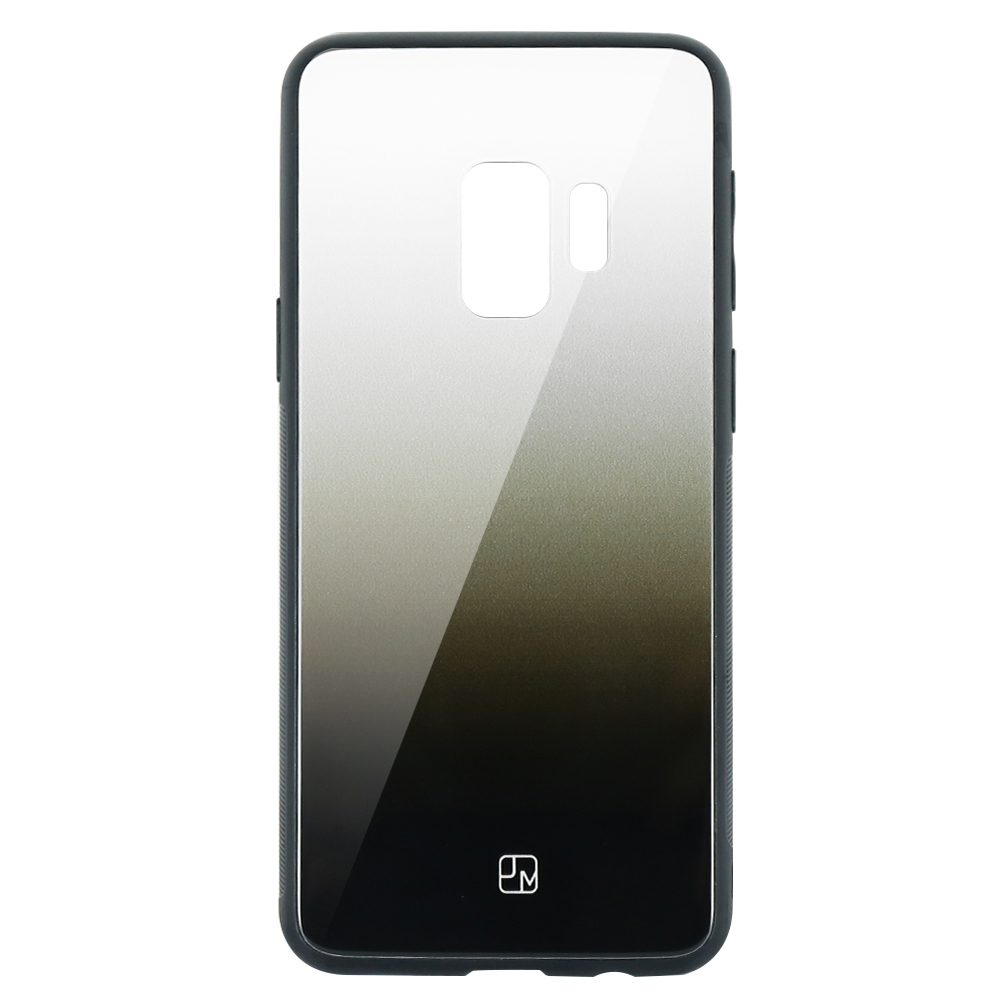 Carcasa Sticla Samsung Galaxy S9 G960 Just Must Glass Gradient White-Black