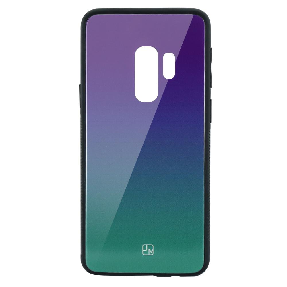 Carcasa Sticla Samsung Galaxy S9 Plus G965 Just Must Glass Gradient Purple-Green
