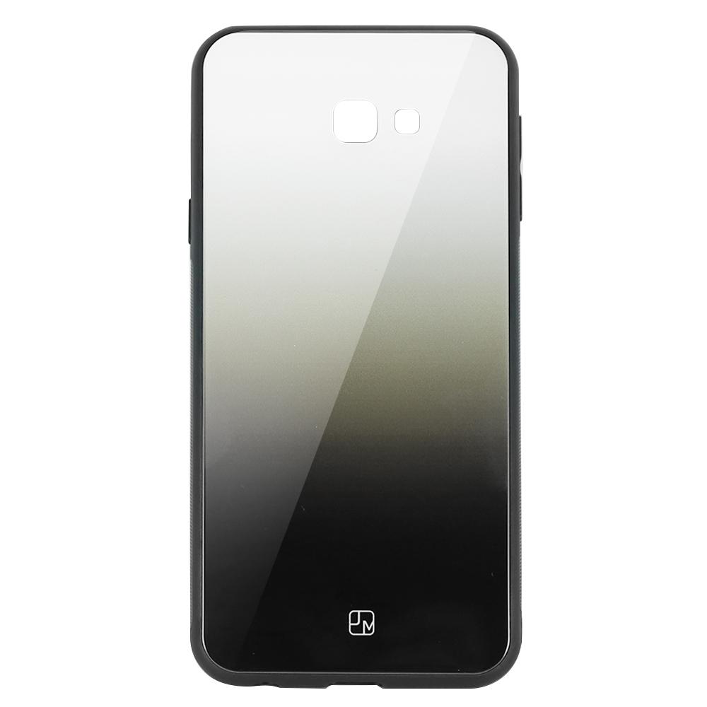 Carcasa Sticla Samsung Galaxy J4 Plus Just Must Glass Gradient White-Black
