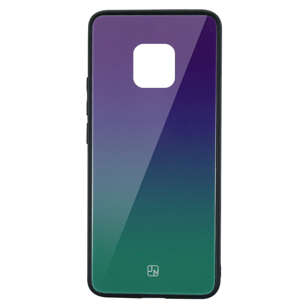 Carcasa Sticla Huawei Mate 20 Pro Just Must Glass Gradient Purple-Green