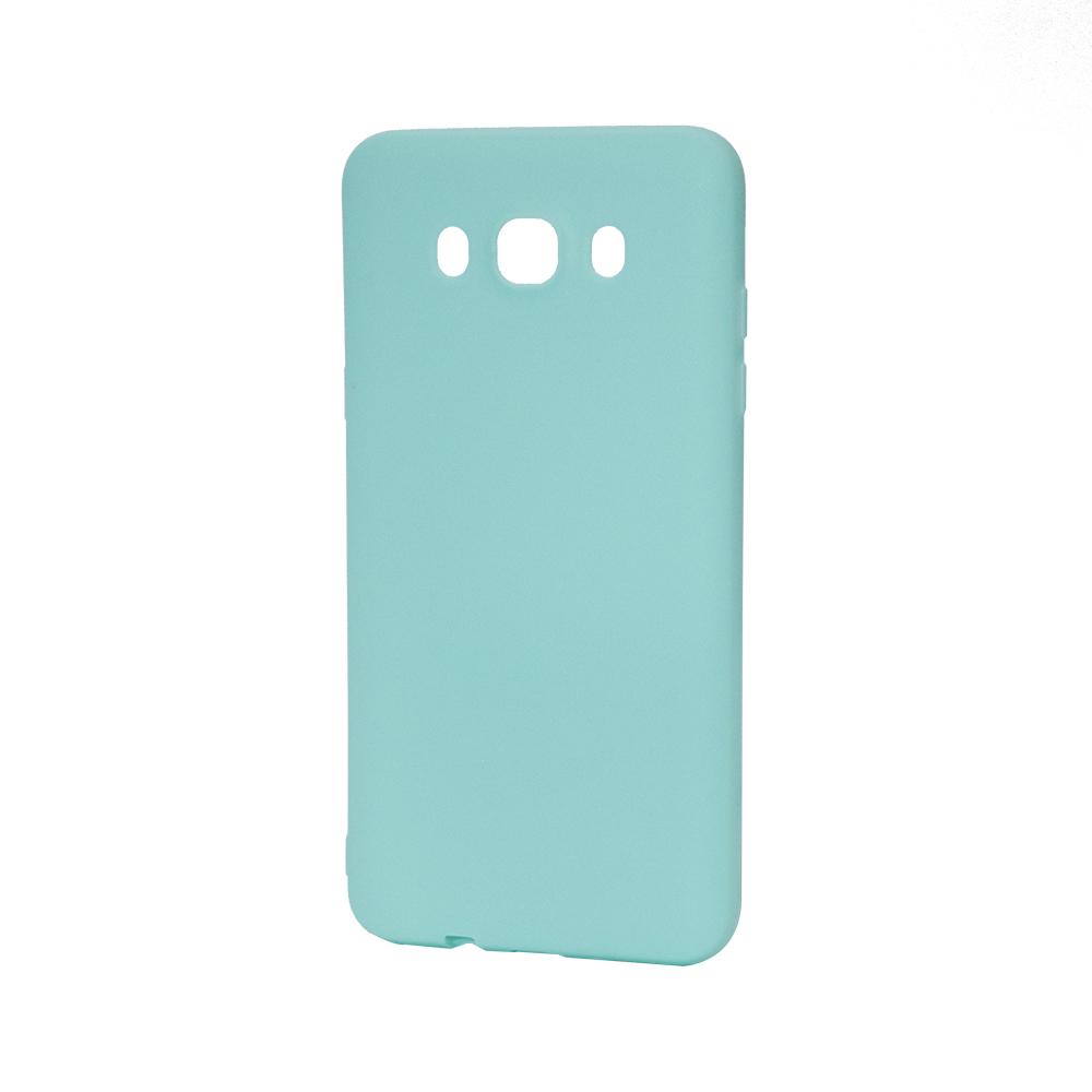Husa Samsung Galaxy J7 (2016) Lemontti Silicon Silky Albastru