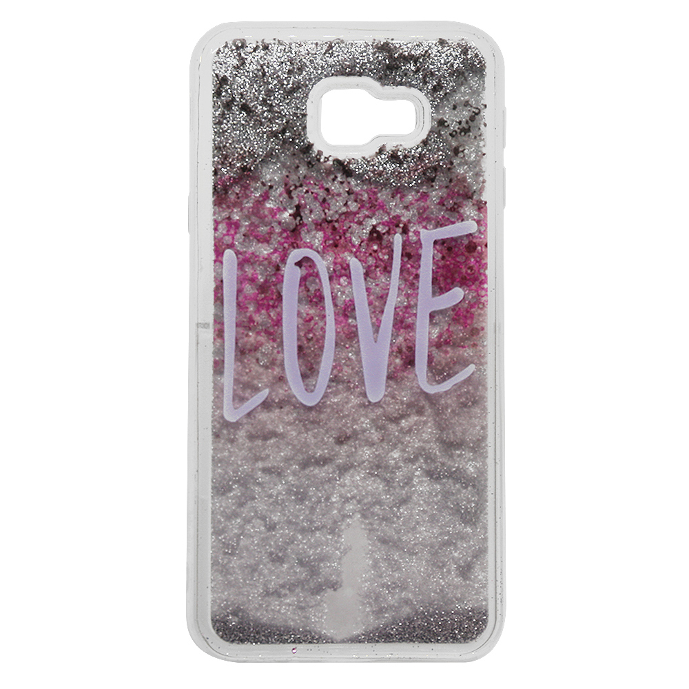 Carcasa Samsung Galaxy J4 Plus Lemontti Liquid Sand Love