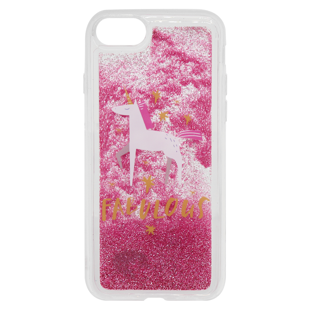 Carcasa iPhone 8 / 7 Lemontti Liquid Sand Fabulous Glitter