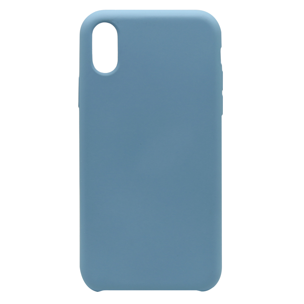 Carcasa iPhone XS / X Lemontti Aqua Azure Blue