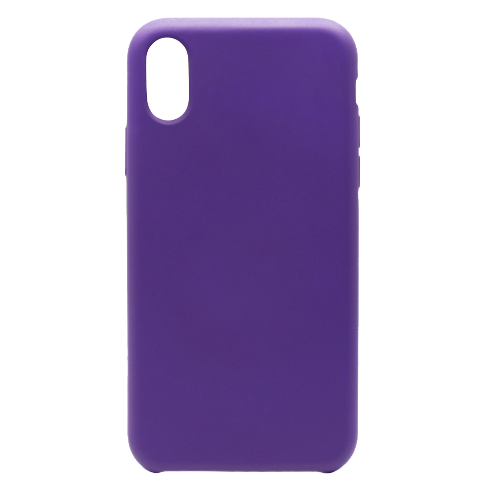 Carcasa iPhone XS / X Lemontti Aqua Dark Purple