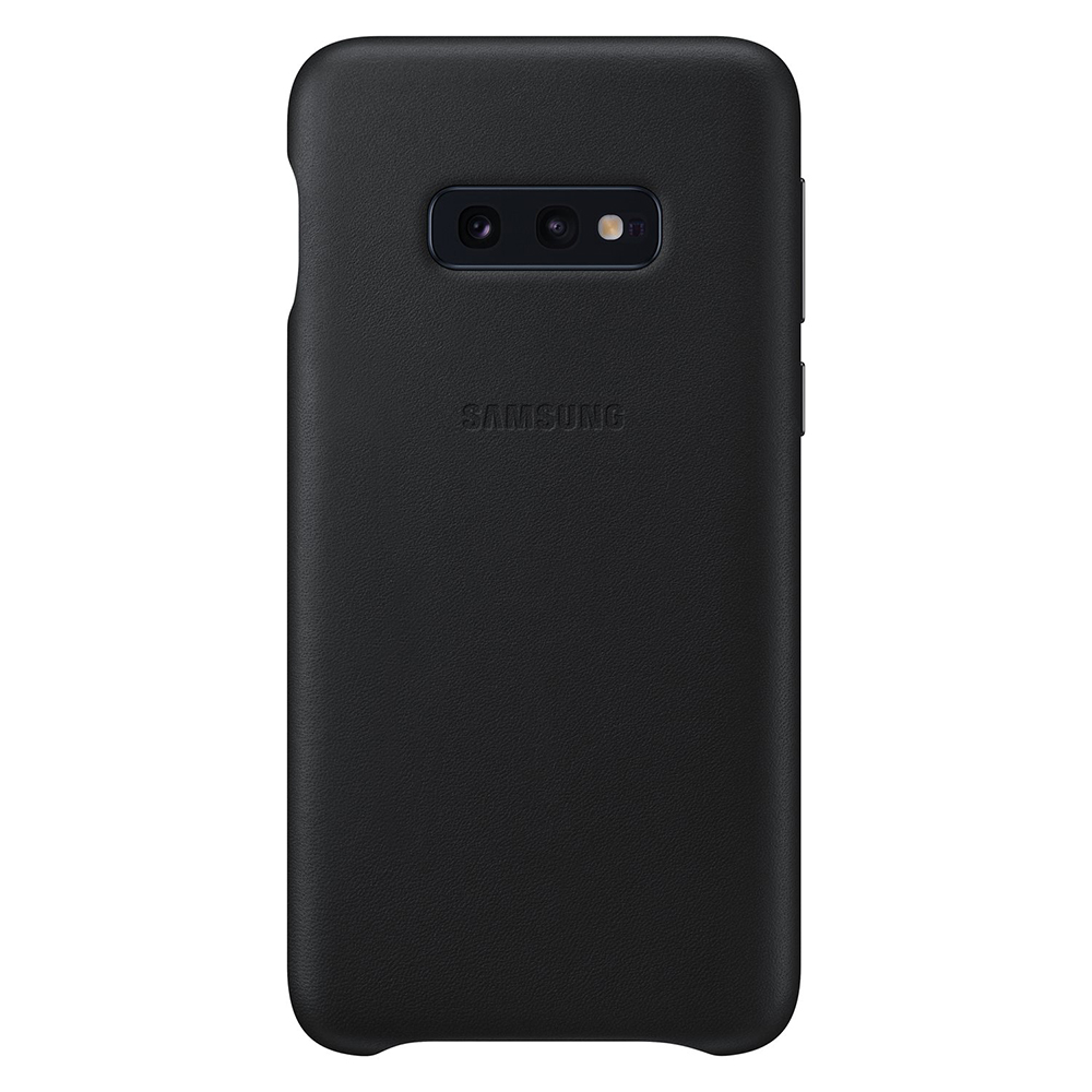 Carcasa Samsung Galaxy S10e G970 Samsung Leather Cover Black