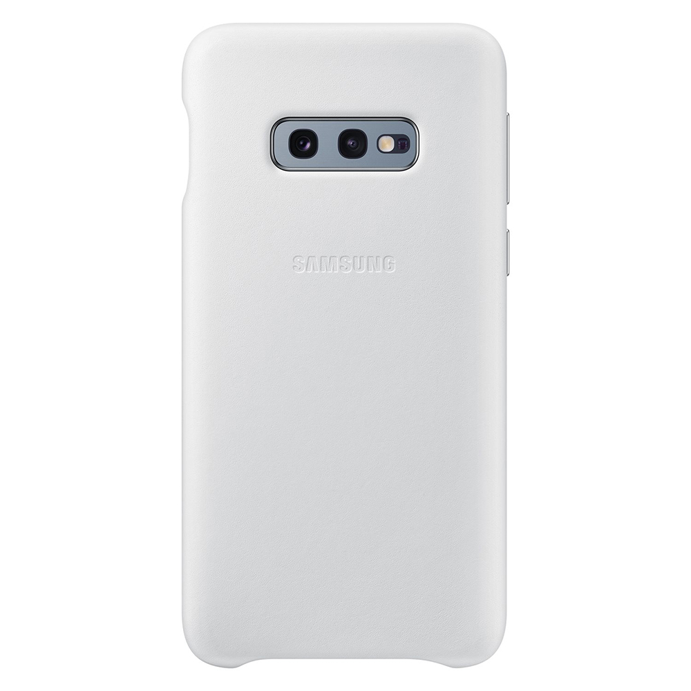 Carcasa Samsung Galaxy S10e G970 Samsung Leather Cover White