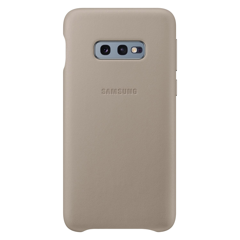 Carcasa Samsung Galaxy S10e G970 Samsung Leather Cover Gray