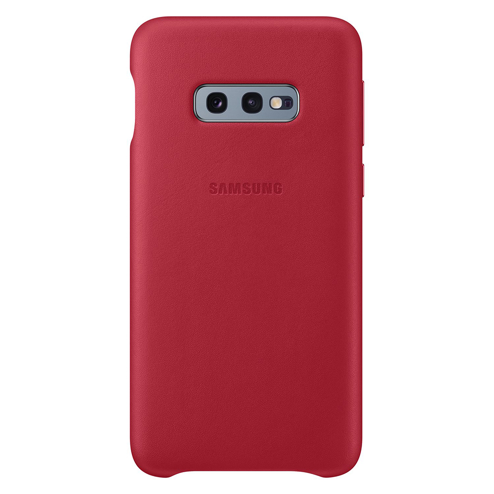 Carcasa Samsung Galaxy S10e G970 Samsung Leather Cover Red