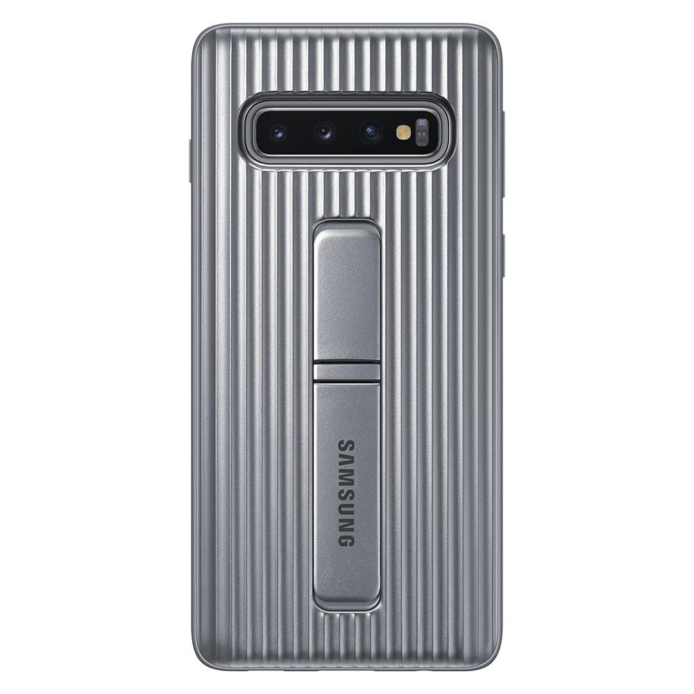 Carcasa Samsung Galaxy S10 G973 Protective Standing Silver