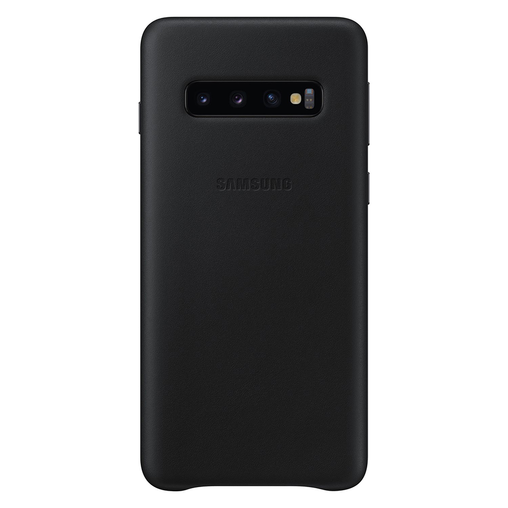 Carcasa Samsung Galaxy S10 G973 Samsung Leather Cover Black
