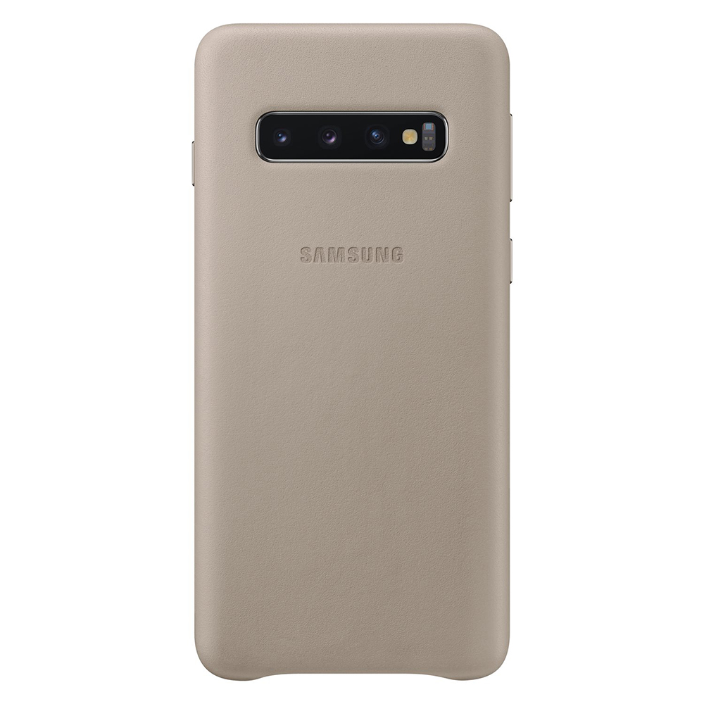 Carcasa Samsung Galaxy S10 G973 Samsung Leather Cover Gray