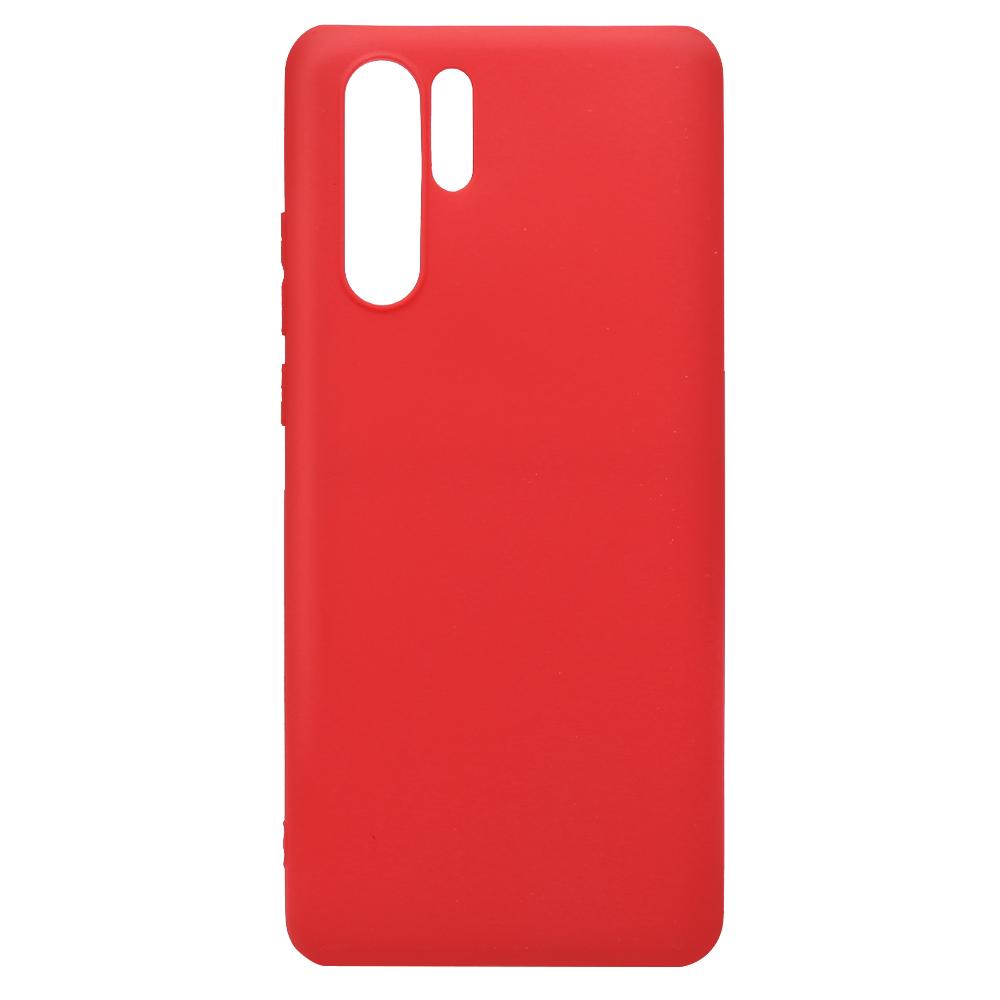 Husa Huawei P30 Pro Lemontti Silicon Silky Rosu