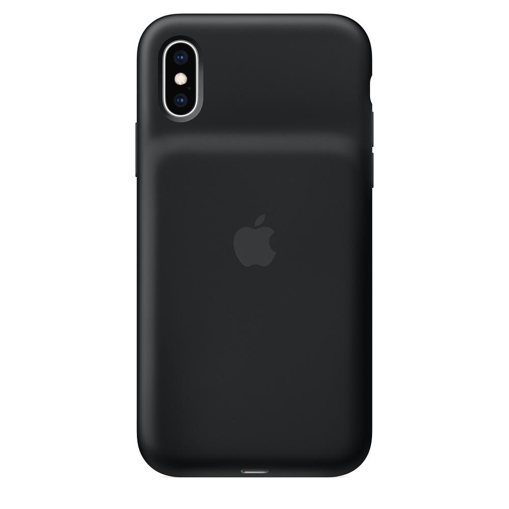 Carcasa iPhone XS Apple Smart Battery Black