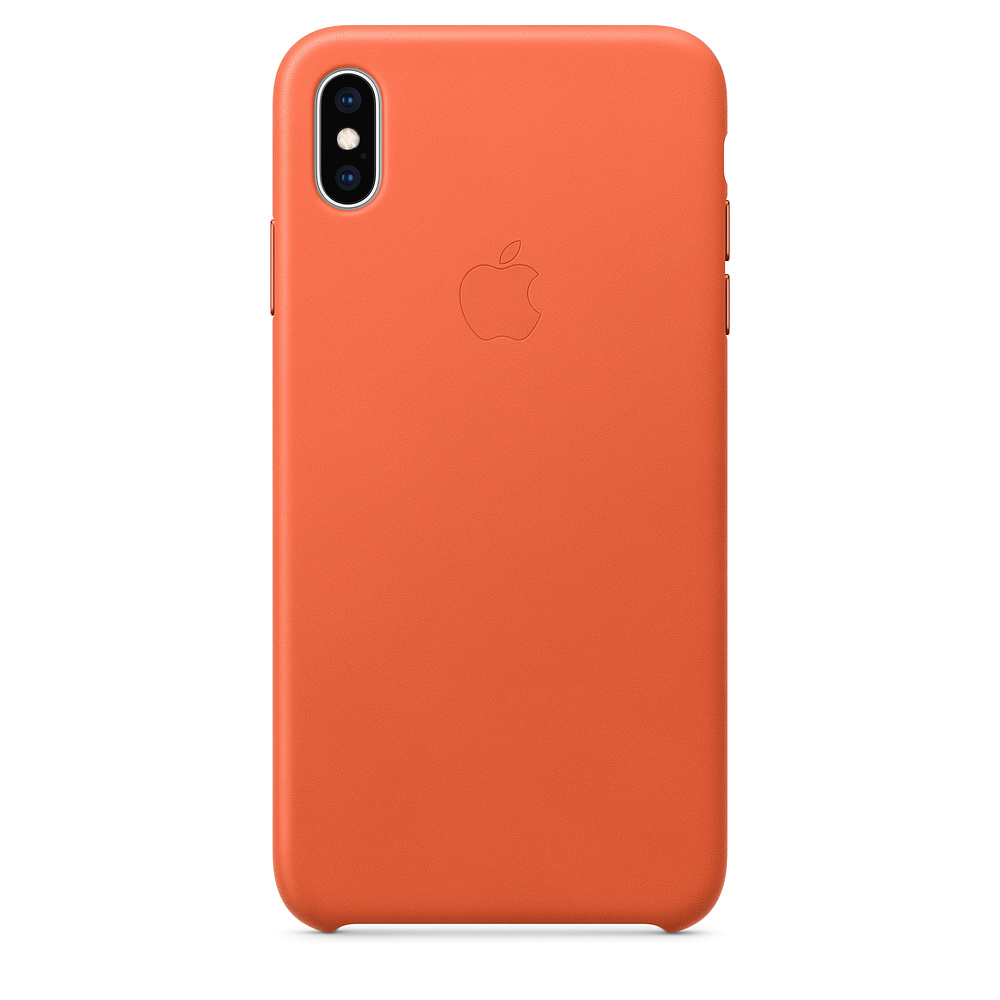 Carcasa iPhone XS Max Apple Leather Sunset